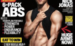 Foto Nick Jonas abdomen cuerpo portada