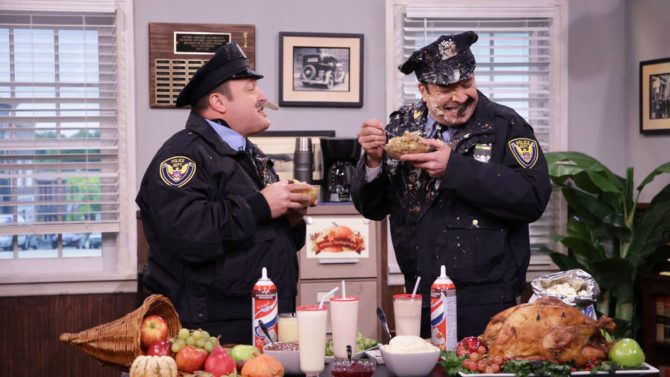 Jimmy Fallon y Kevin James