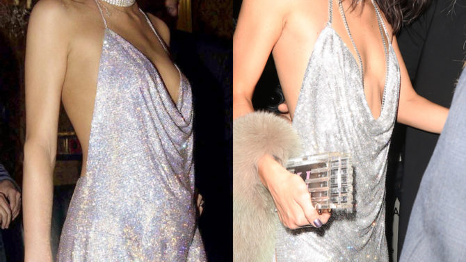 Paris Hilton vestido Kendall Jenner 21