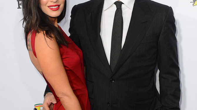 Brian Austin Green y Megan Fox