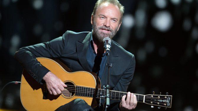 Sting dará show de reapertura en