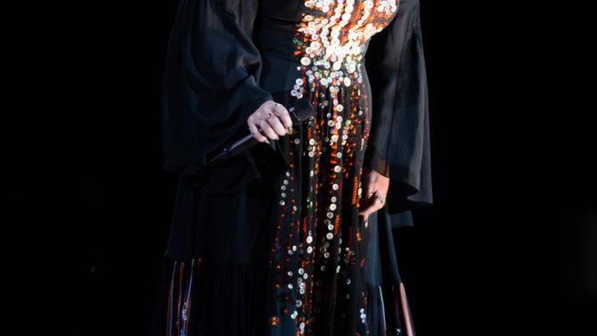 Video Adele concierto México murciélago
