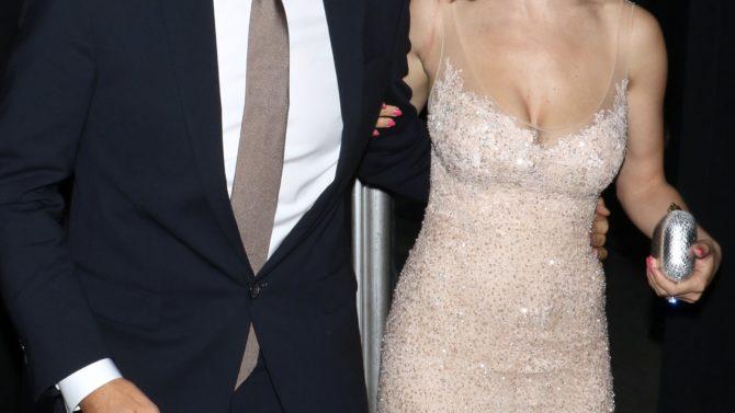 Michael Buble and Luisana Lopilato