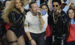 Beyonce, Chris Martin y Bruno Mars