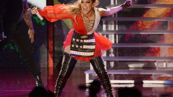 Jennifer Lopez Hillary Clinton presidential campaigning,