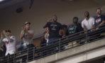 LeBron James en el partido de