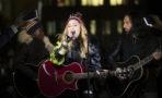 Madonna concierto sorpresa Nueva York Hillary