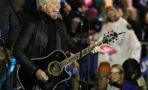 Rally Hillary Clinton Jon Bon Jovi