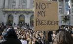 Donald Trump reacción protestas