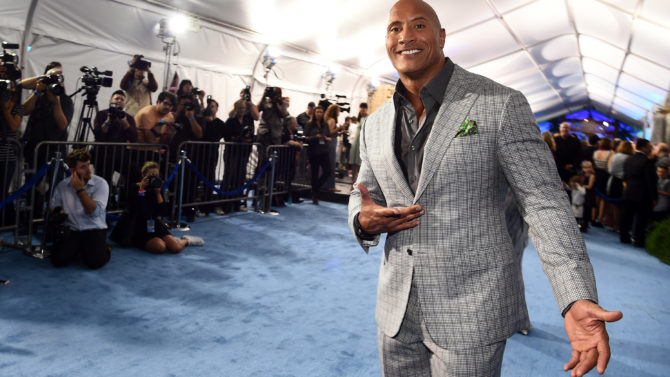 Dwayne Johnson 'Moana' film premiere, Arrivals,