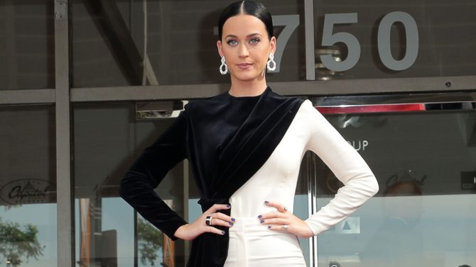 Katy Perry Capitol Records Star of