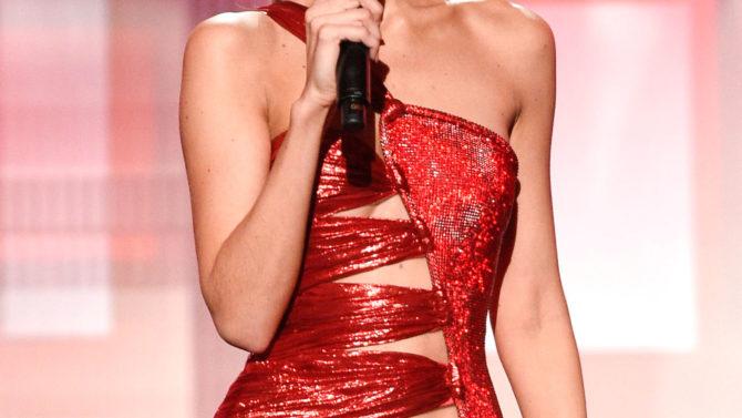 Gigi Hadid American Music Awards, Show,