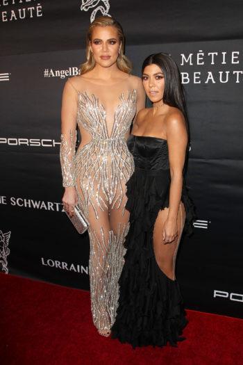 Khloe Kardashian y Kourtney Kardashian