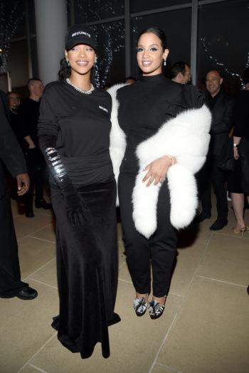 Rihanna y Dascha Polanco