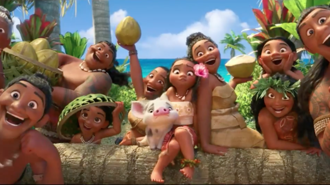Go Behind-the-Scenes of 'Moana' With New