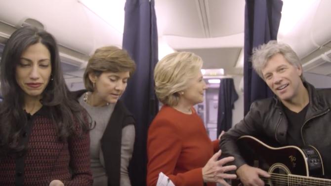 Hillary Clinton se une al #MannequinChallenge