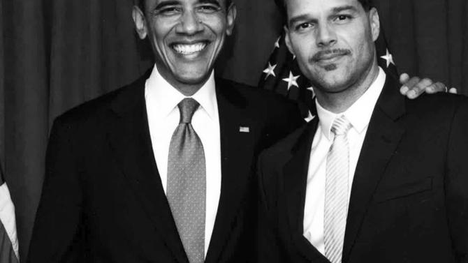 Ricky Martin le da las gracias