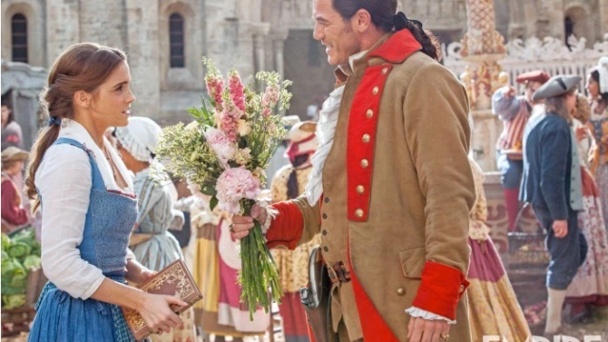 'Beauty and the Beast': Gaston Flirts