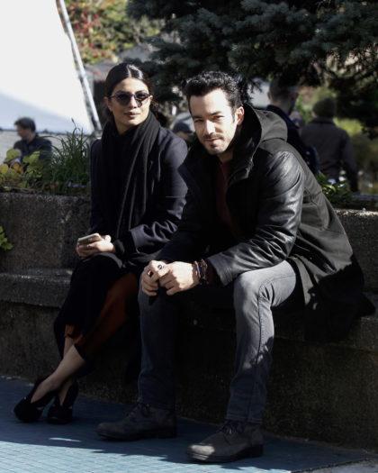 Priyanka Chopra y Aarón Díaz