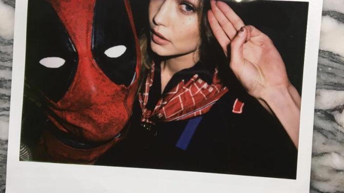 Fotos Taylor Swift disfraz Deadpool