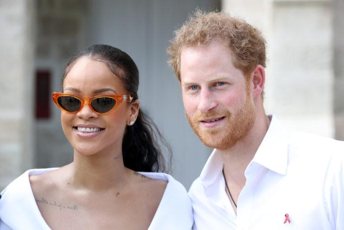 Príncipe Harry y Rihanna